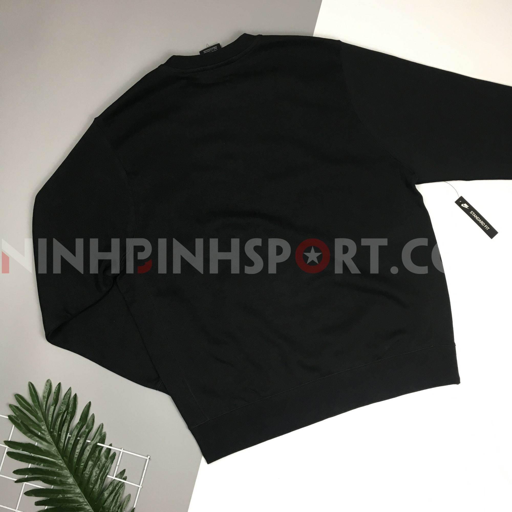 Áo dài tay thể thao nam NIKE JDI BSTR Crew Fleece BV5090-010