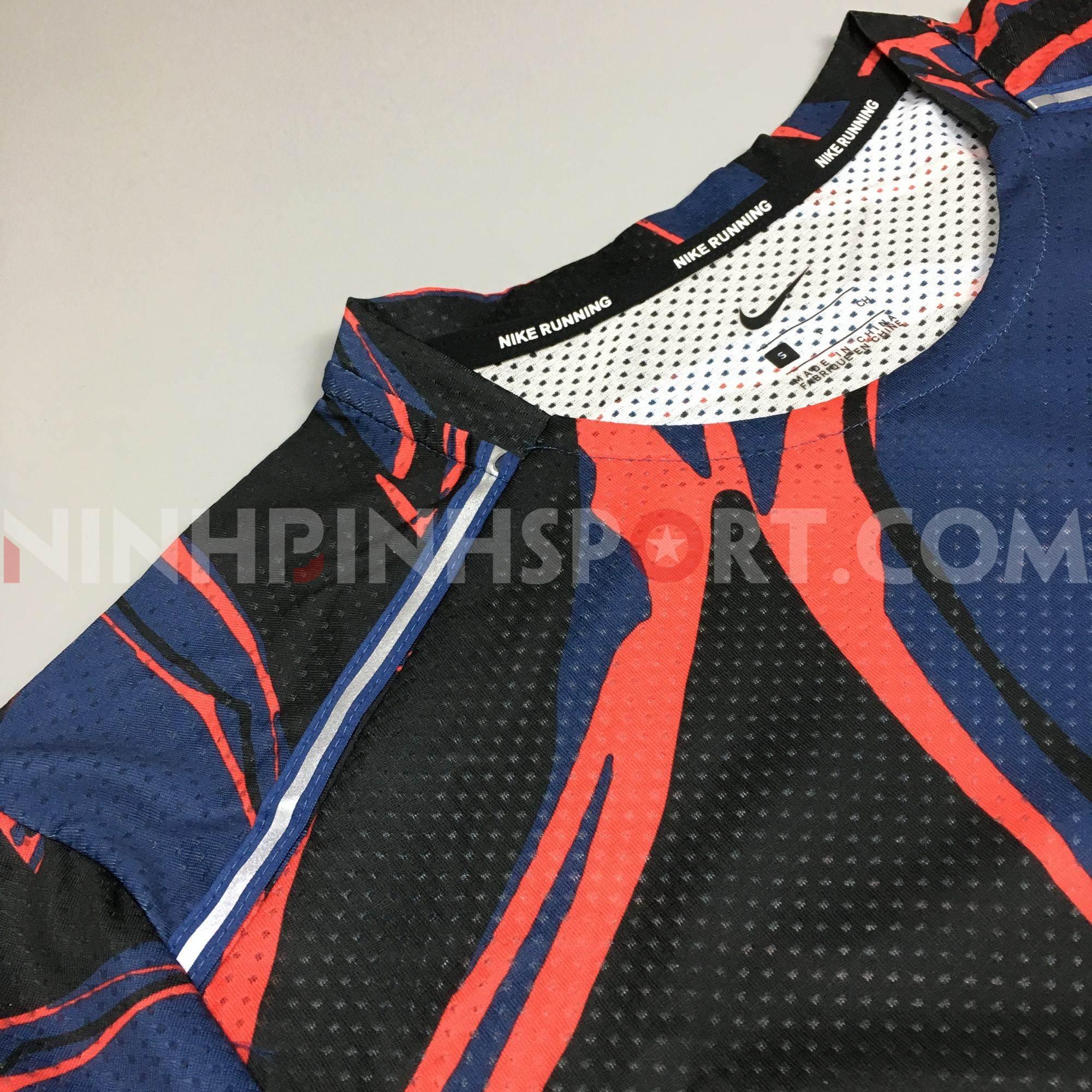 Áo thể thao nam Nike Miler SS Fiesta Floral CD0125-469