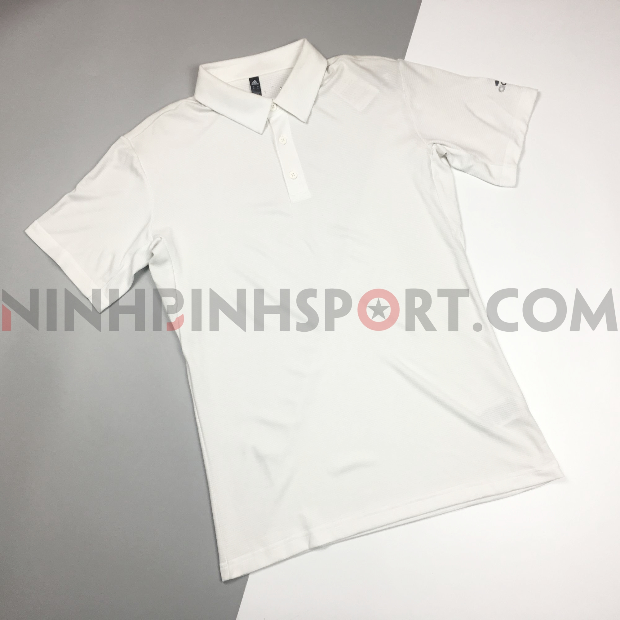 Áo thể thao nam Adidas Climachill Polo White CD3200