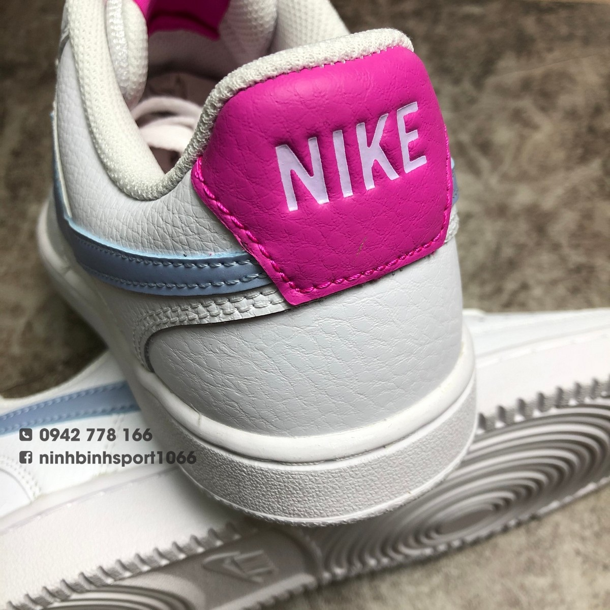 Giày thể thao nữ Nike Court Vision Low CD5434-104