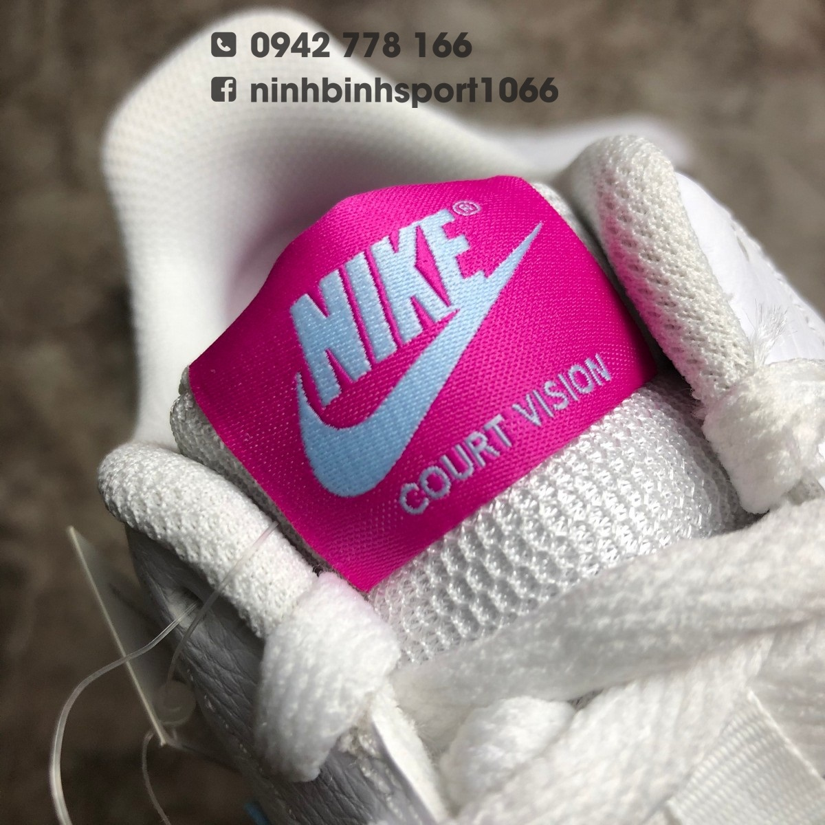 Giầy thể thao nữ Nike Court Vision Low CD5434-104