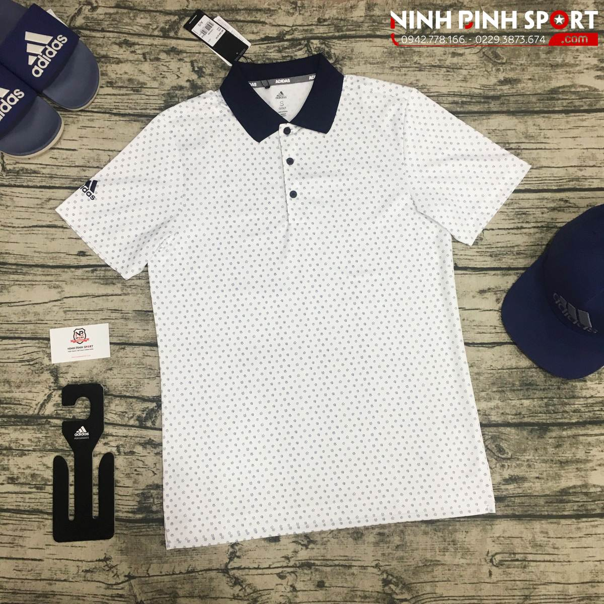 Áo Adidas Golf Print Polo CD6725