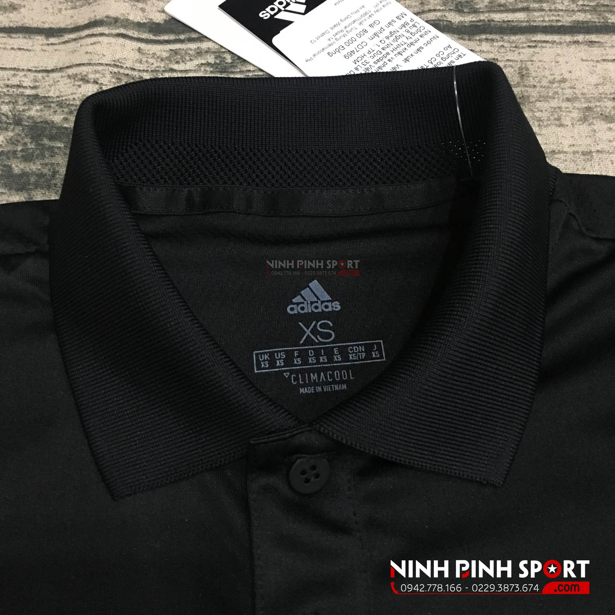 Áo thể thao nam Adidas Club 3-Stripes Polo CD7469