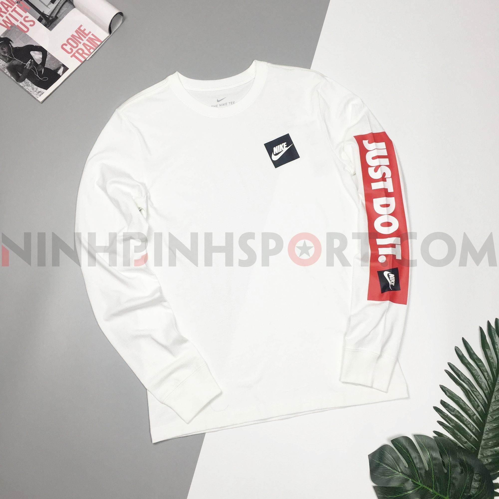 Áo dài tay nam Nike Jdi Bmpr White CD9599-100
