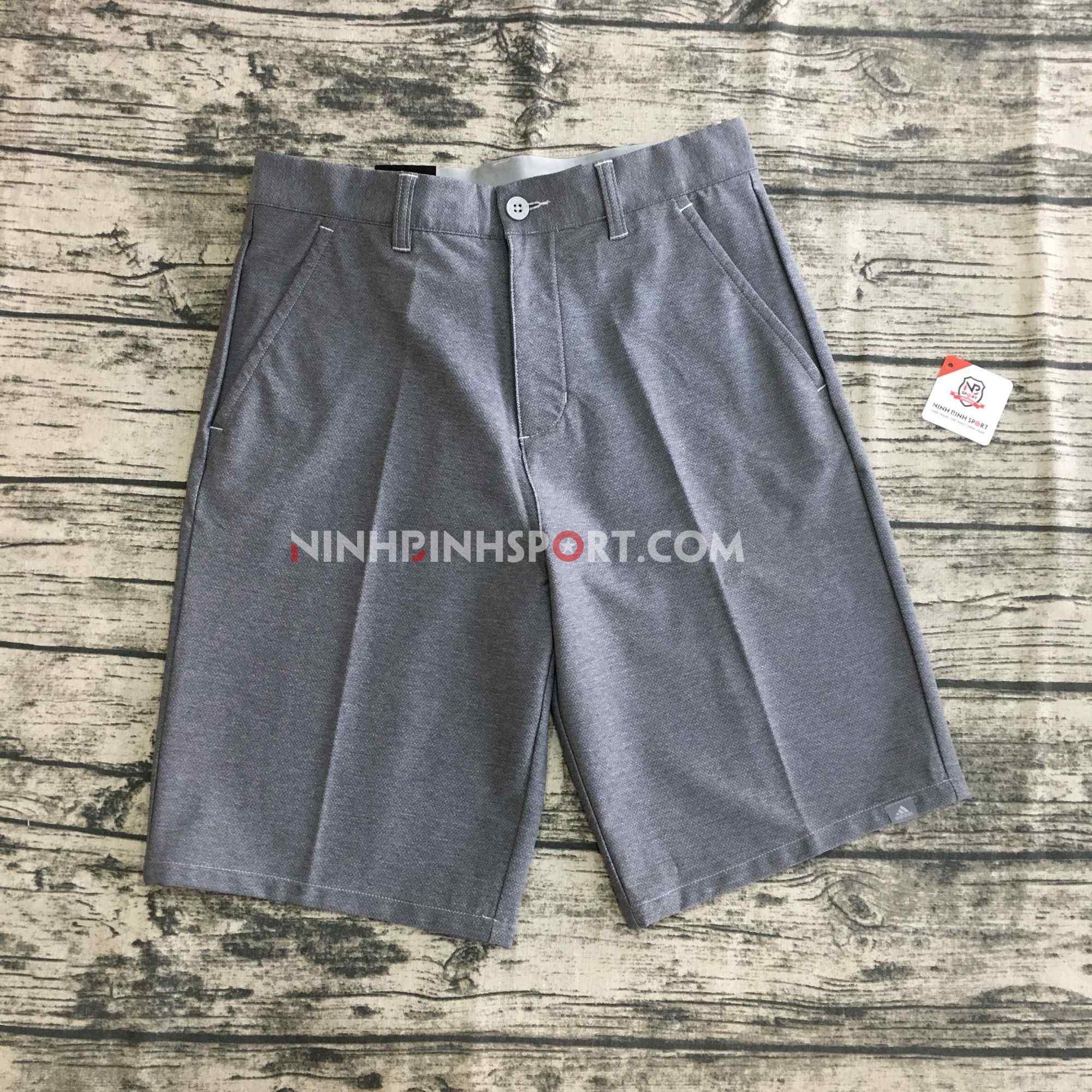 Quần Thể Thao Adidas Golf Ultimate 365 Crosshatch Short - Dark Grey CD9892