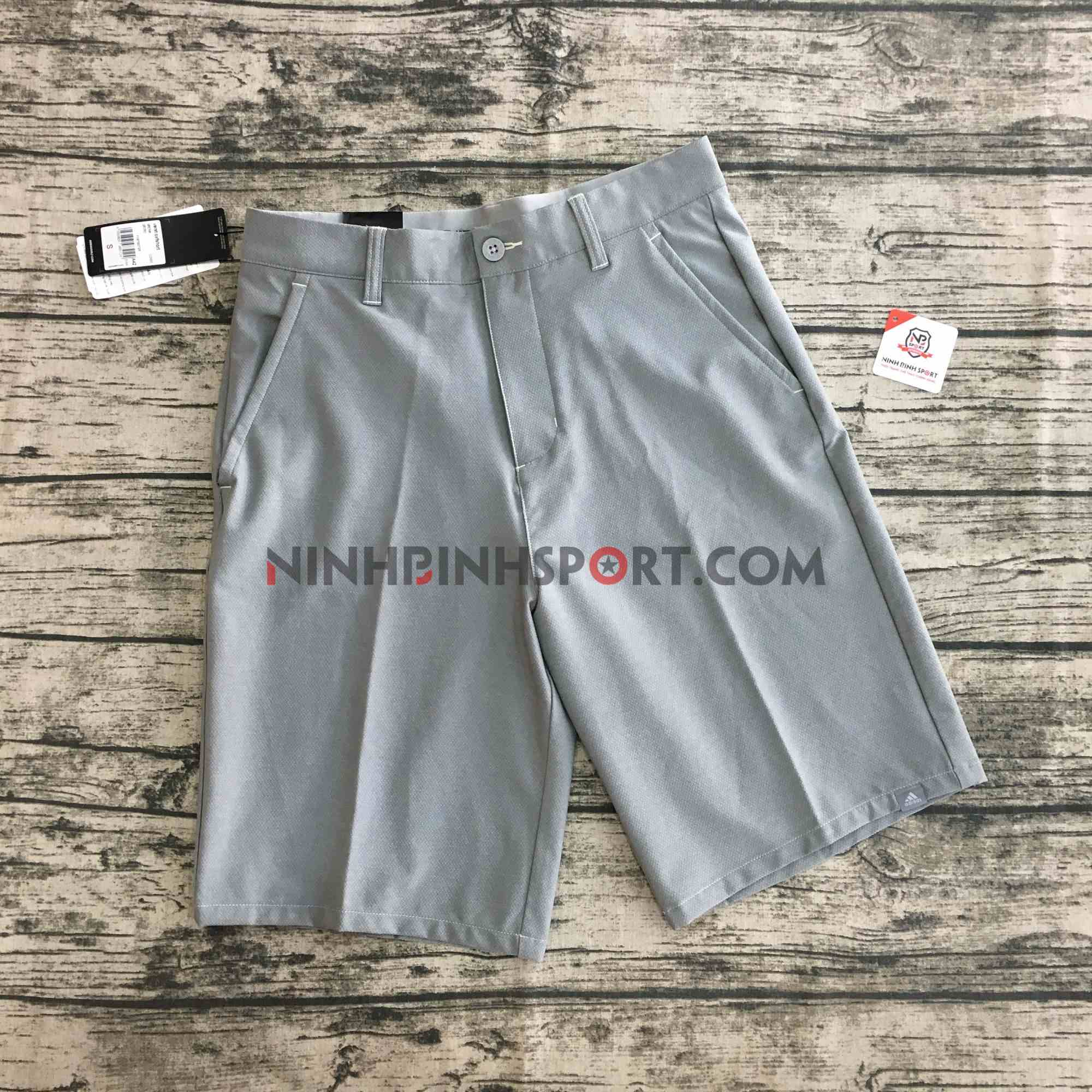 Quần Thể Thao Adidas Golf Ultimate 365 Crosshatch Short - Grey CD9893