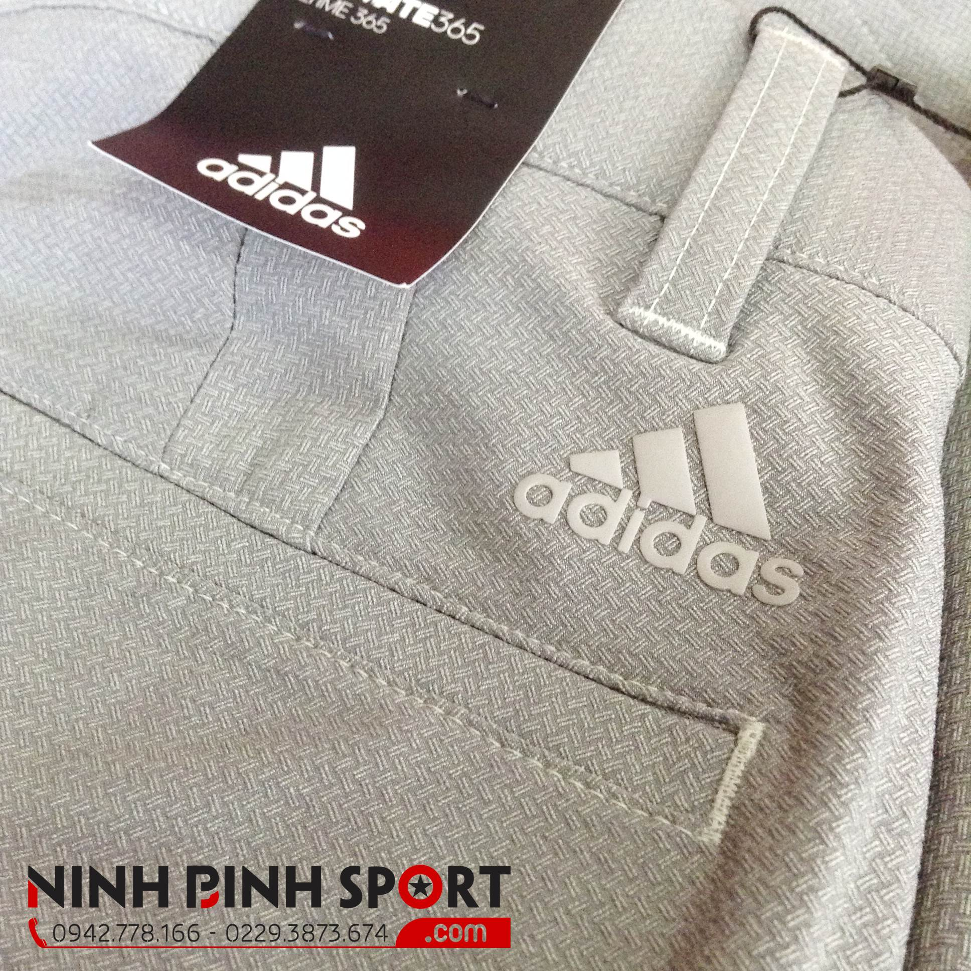 Quần thể thao nam Adidas Golf Ultimate 365 Crosshatch  CD9893