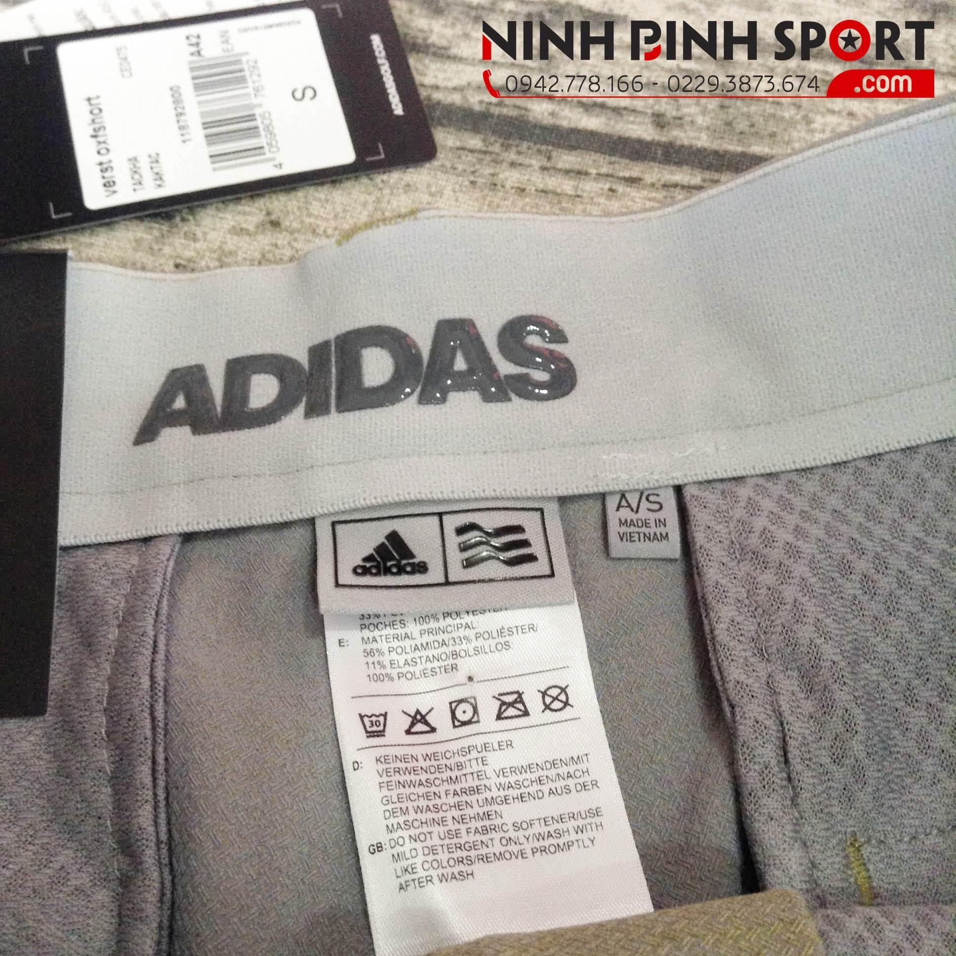 Quần Thể Thao Adidas Golf Ultimate 365 Crosshatch Short - Khaki CE0475