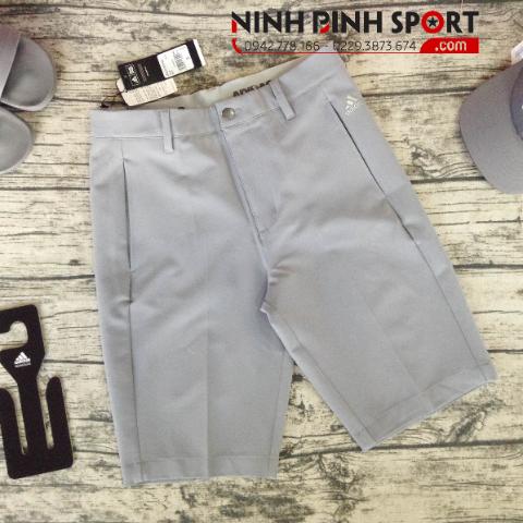 Quần Thể Thao Adidas Golf Ultimate 365 3-Stripe Short - Grey CE0479
