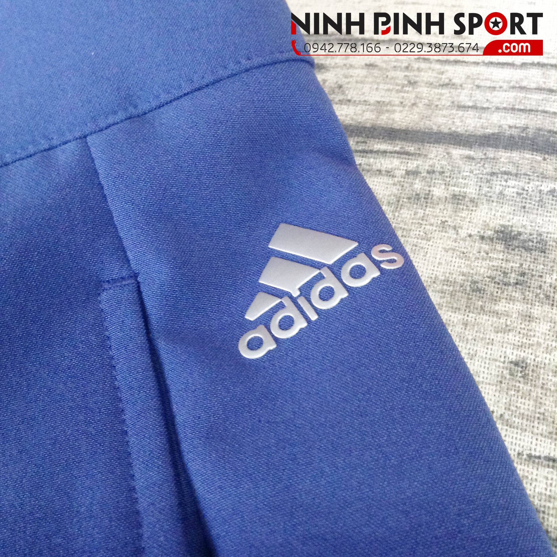 Quần Thể Thao Adidas Golf Ultimate 365 3-Stripe Short - Blue CE0481