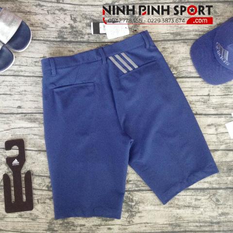 Quần Thể Thao Adidas Golf Ultimate 365 3-Stripe Short - Blue CE0481