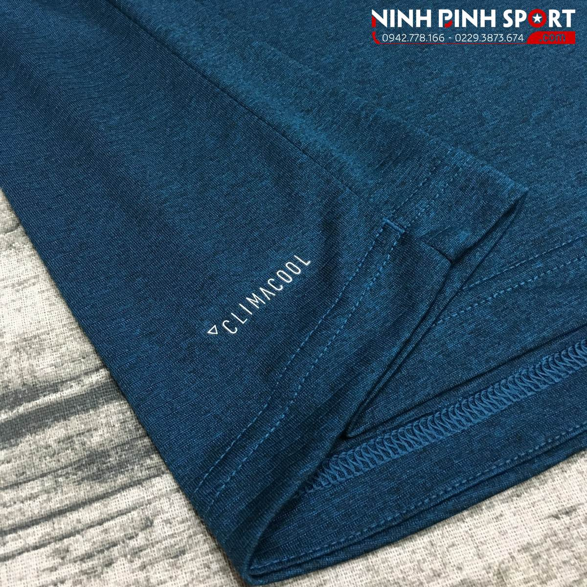Áo Adidas FreeLift Climacool Tee-Blue CE0862
