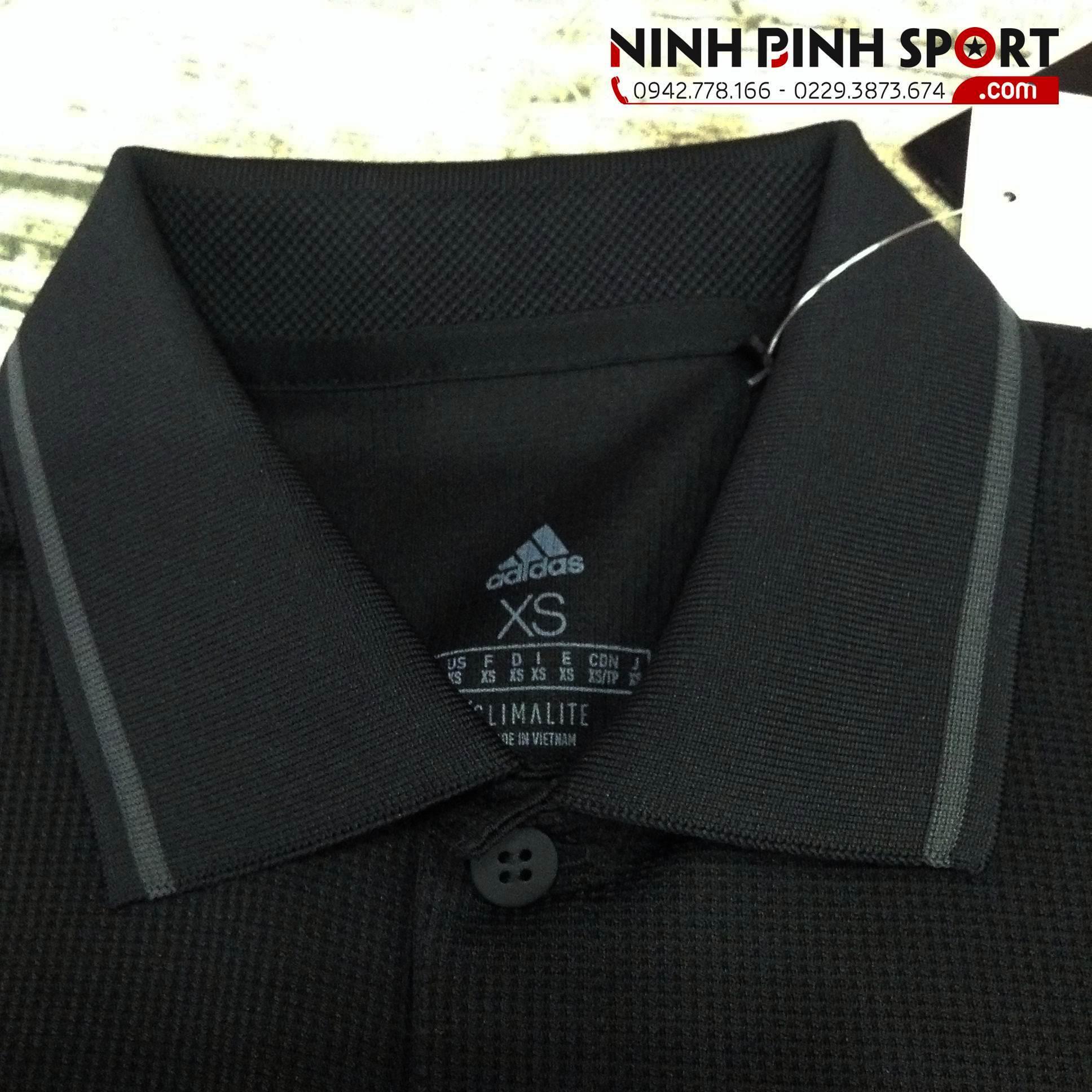 Áo Thể Thao Adidas Club Tex Polo - Black CE1418