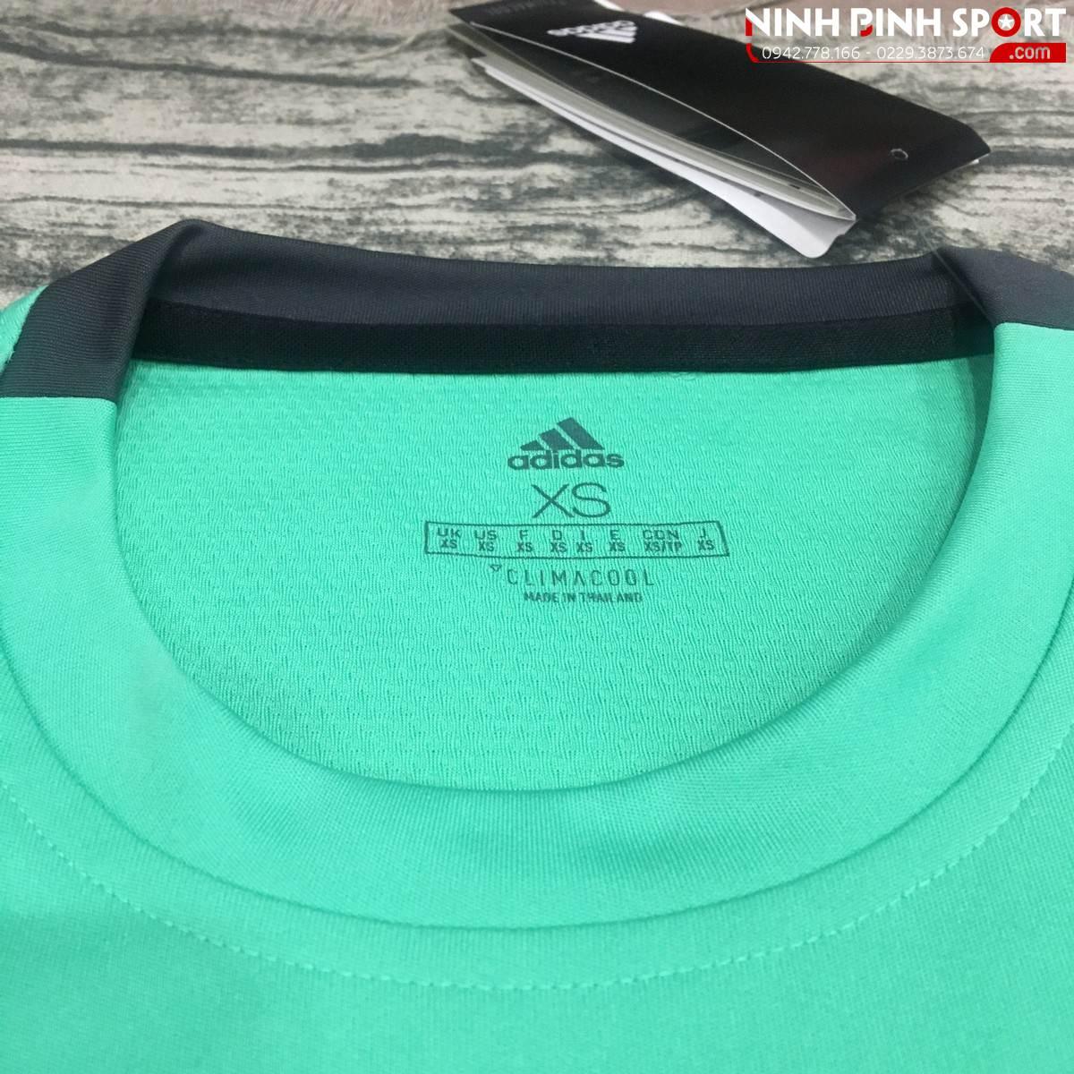 Adidas 3-Stripes Club Tee - Light Green CE1423