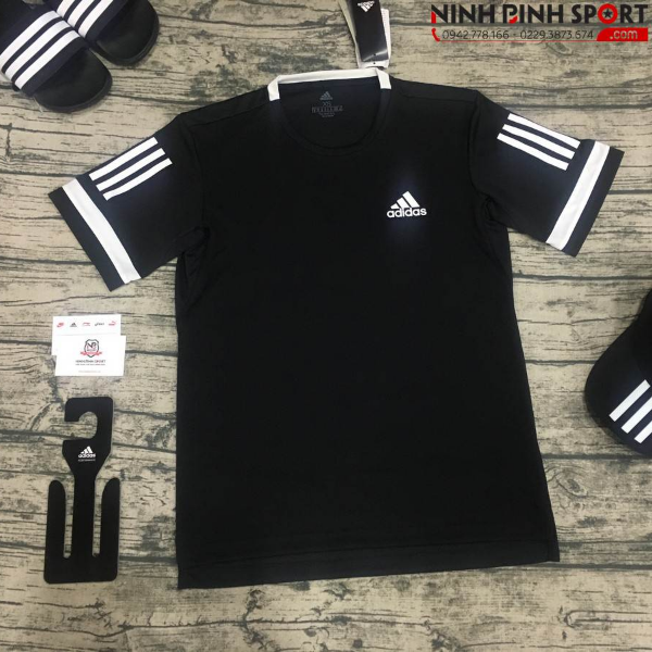 Adidas 3-Stripes Club Tee - Black CE1425