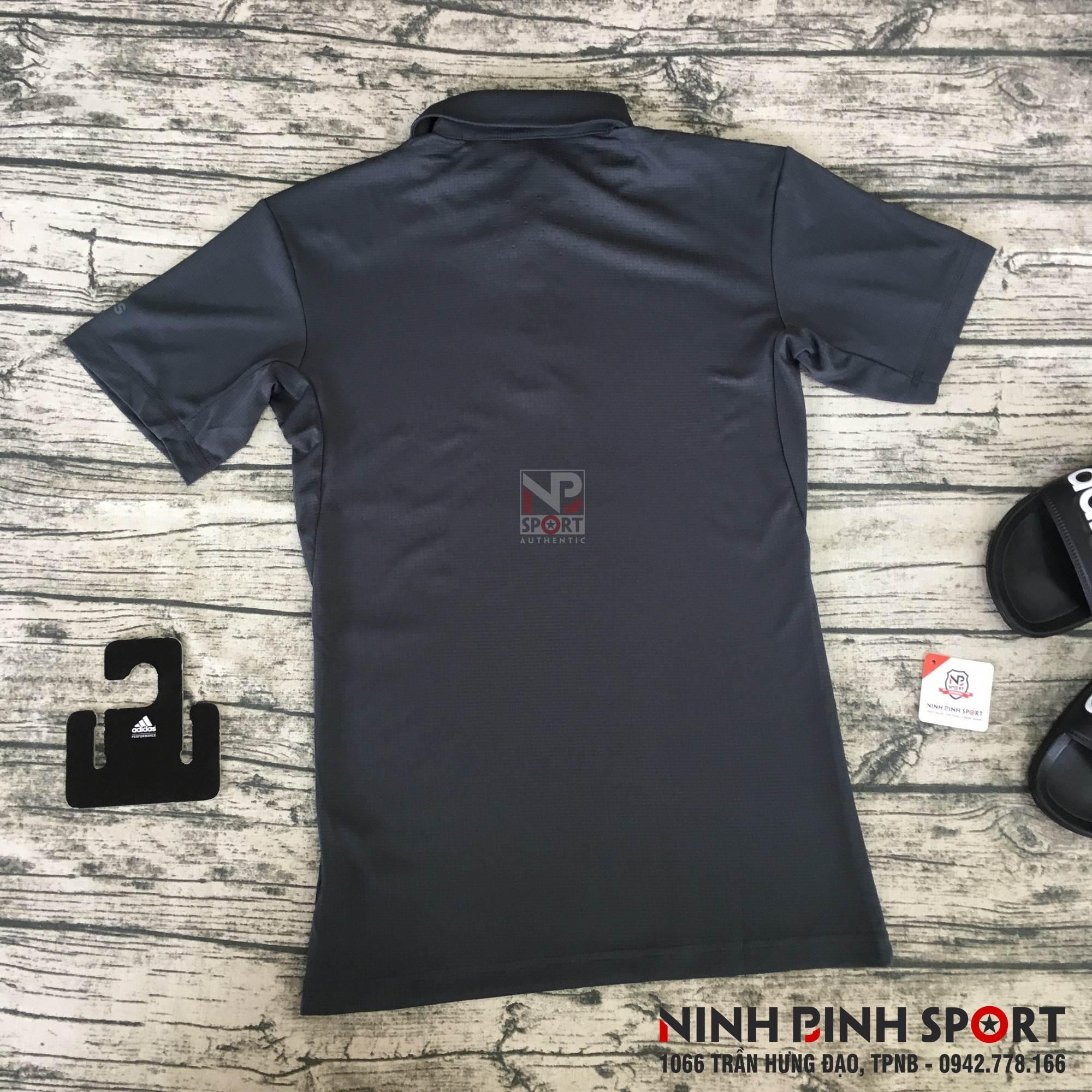 Áo thể thao nam Adidas Climachill Polo Grey CE1442