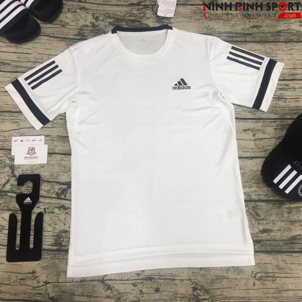 Adidas 3-Stripes Club Tee - White CE2032