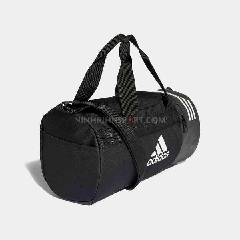 Túi thể thao nam Adidas  Convertible 3-Stripes Duffel Extra Small Black CG1531