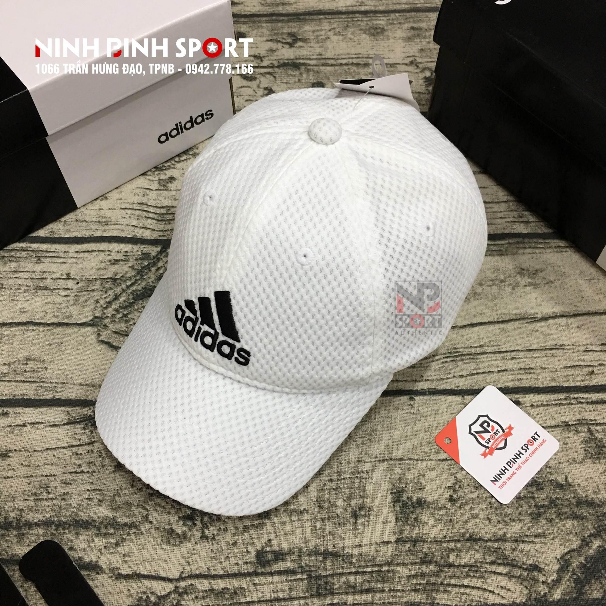 Mũ thể thao Adidas C40 Climacool White CG1787