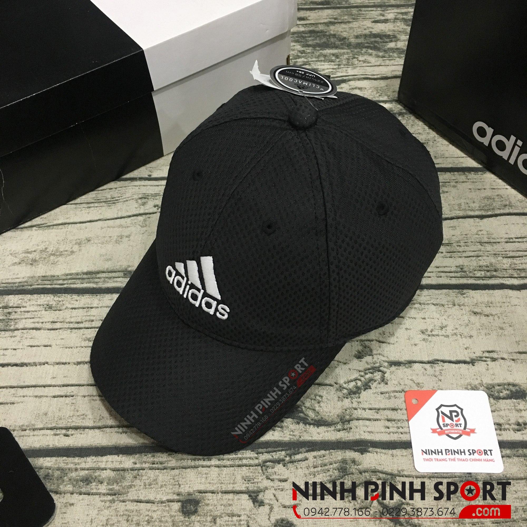 Mũ thể thao Adidas C40 Climacool Black CG1788