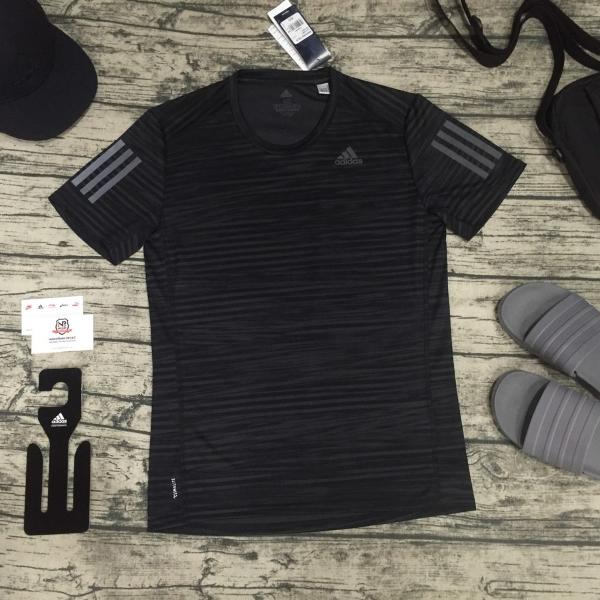 Áo Adidas Response Printed Tee - Black Nam CG2191