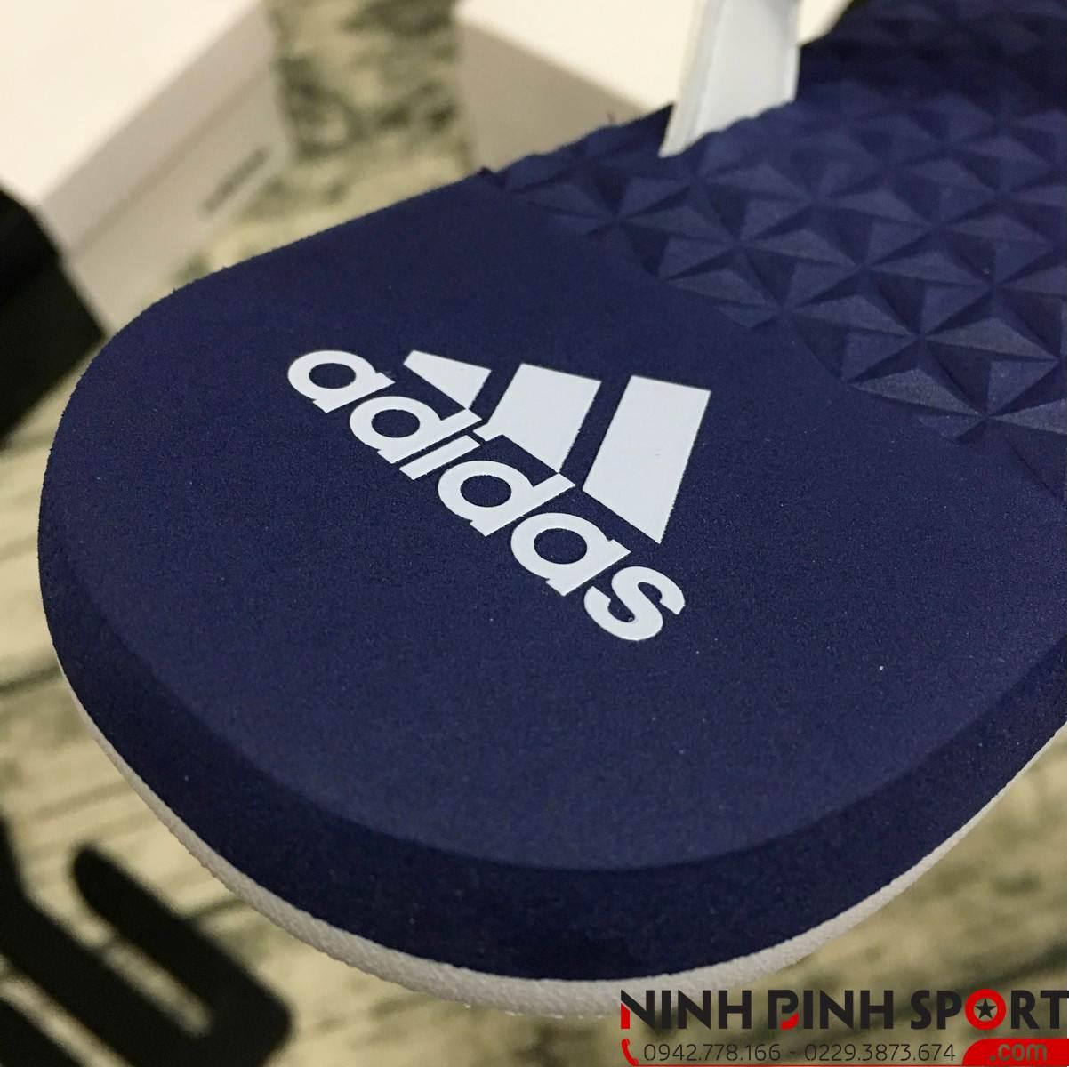 Tông Adidas Eezay Flip Flop Blue Nam CG3559