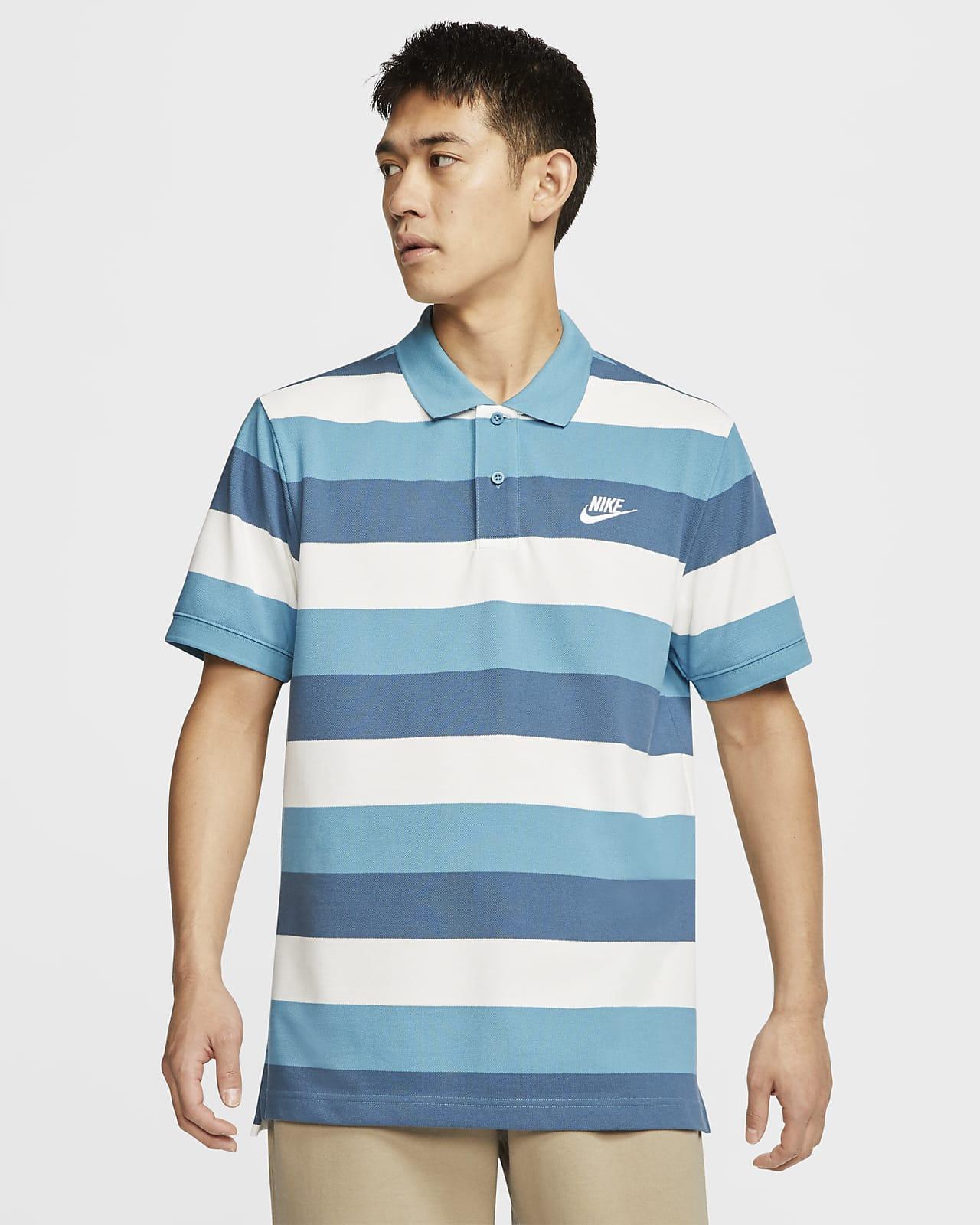 Áo thể thao nam Nike Polo Sportswear Striped CJ4466-424