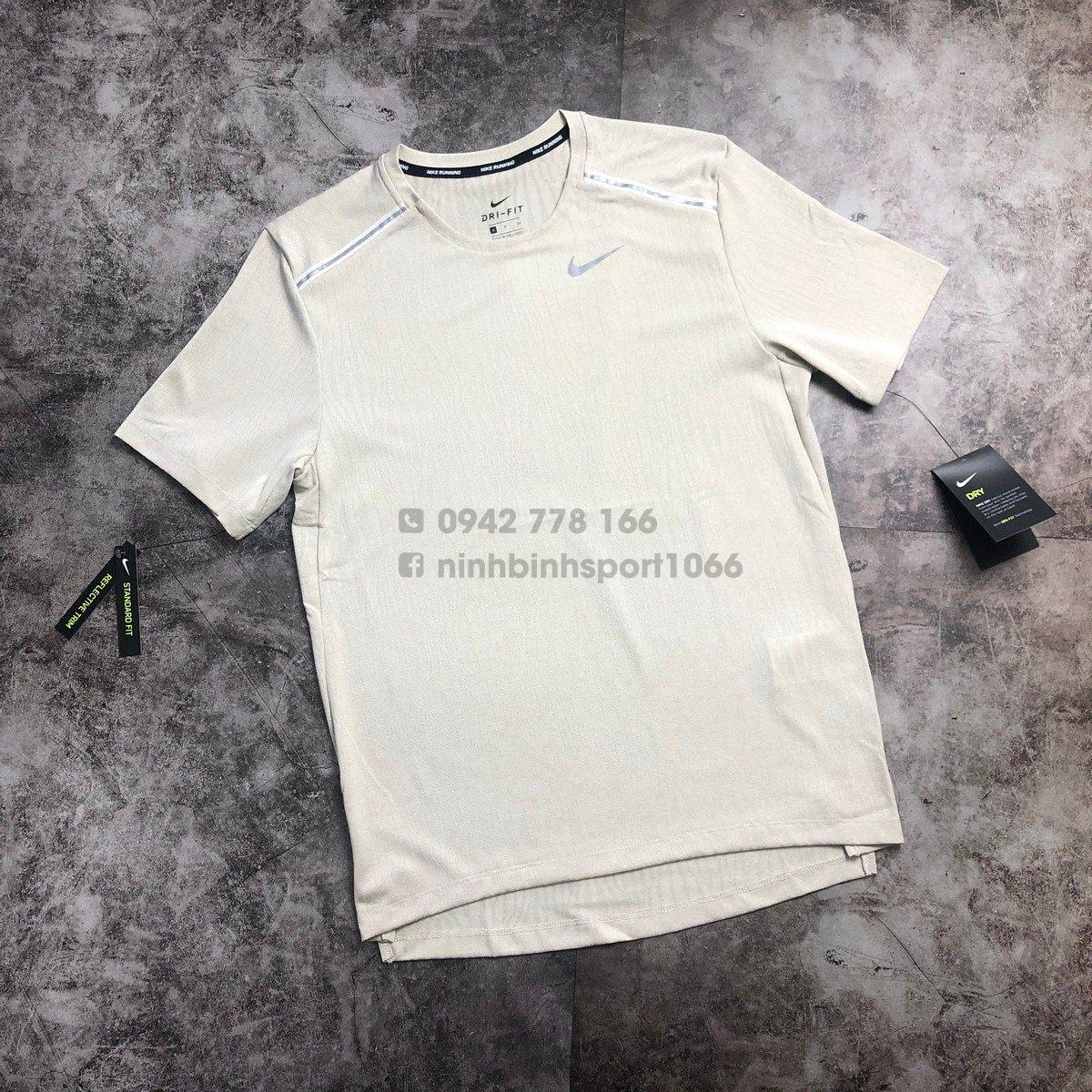 Áo thể thao nam nike Dry Miler Ss Jacquard CJ5343-221