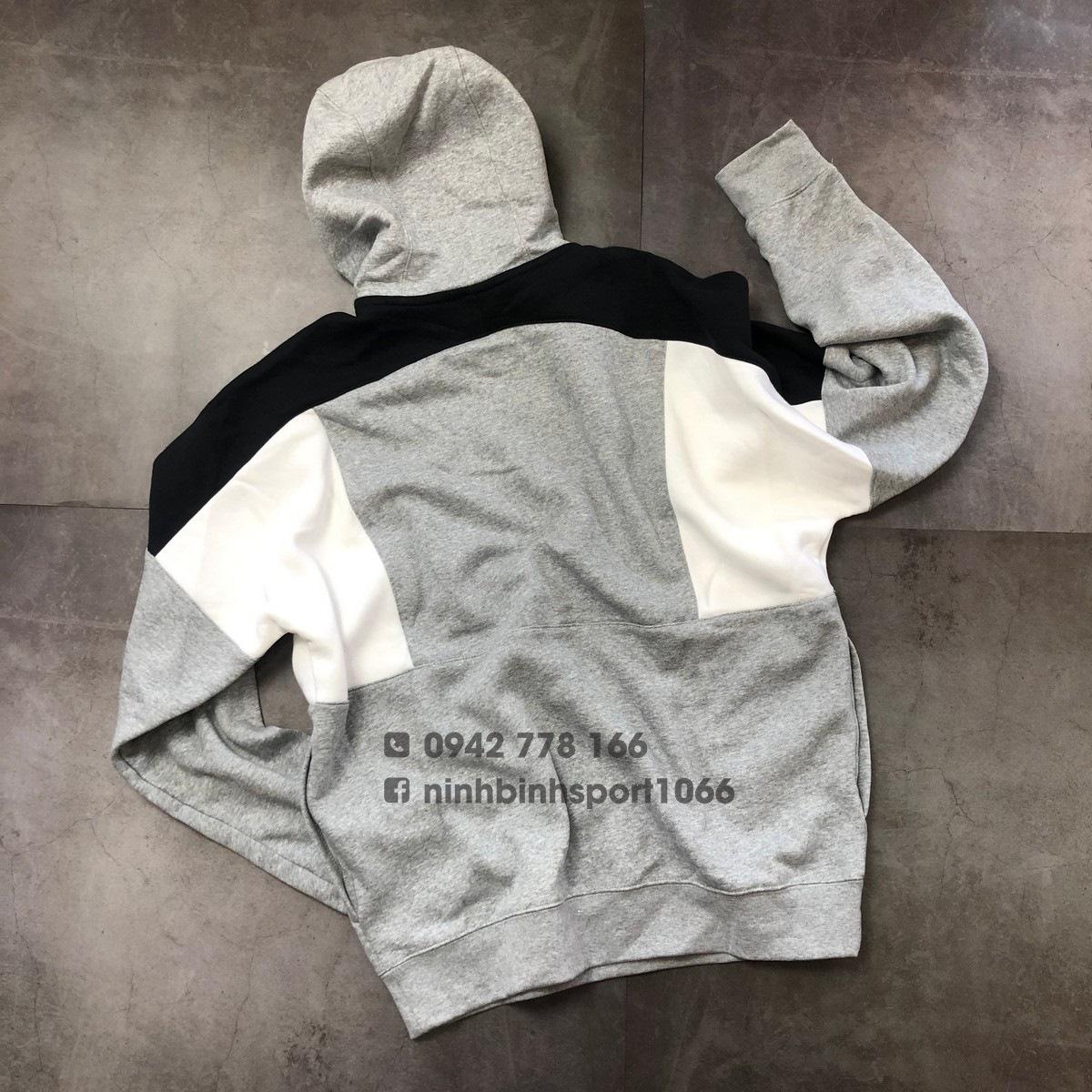 Áo dài tay nam Nike Color-Block Pullover Hoodie CK4544-050