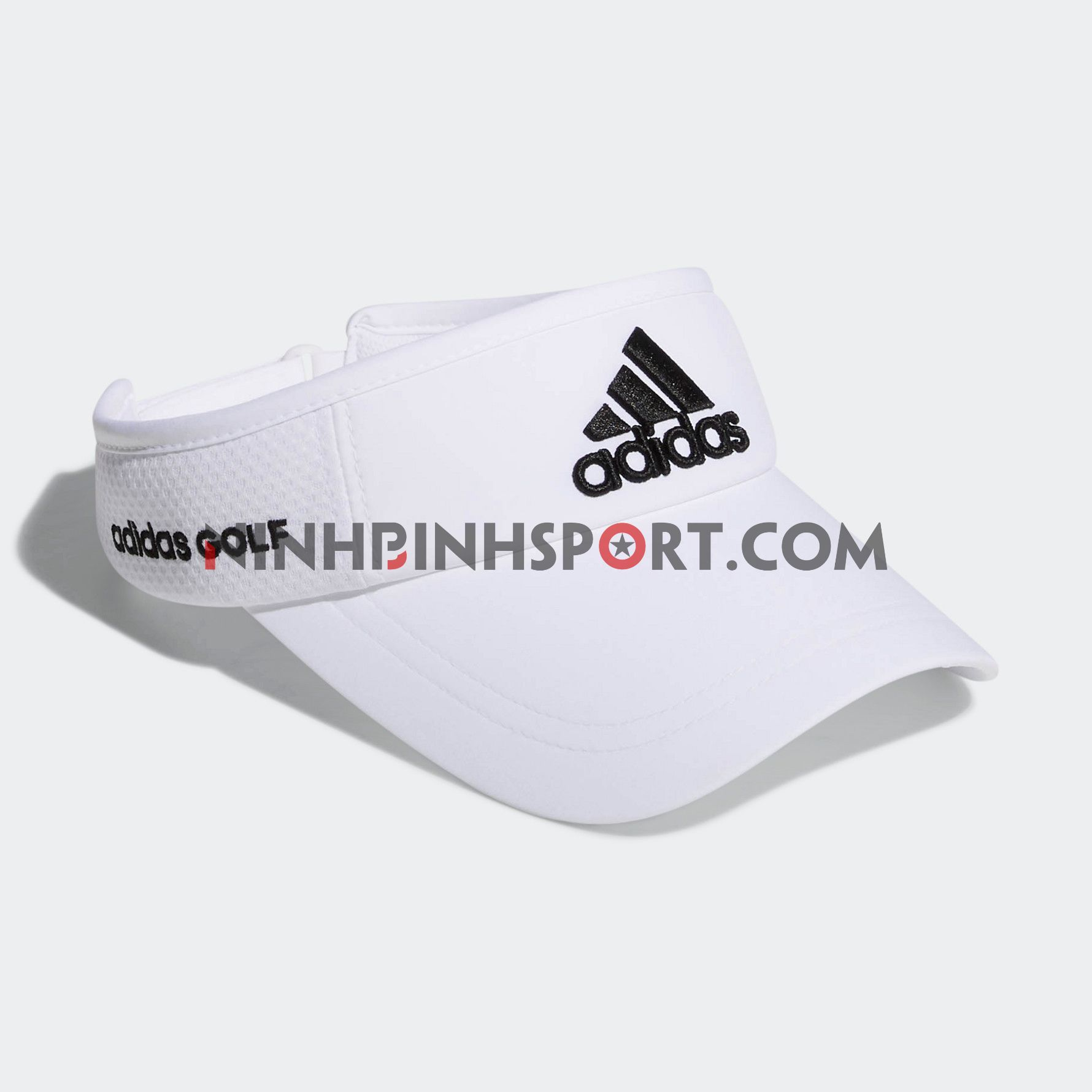 Mũ thể thao Adidas Tour Visor - White CK7229