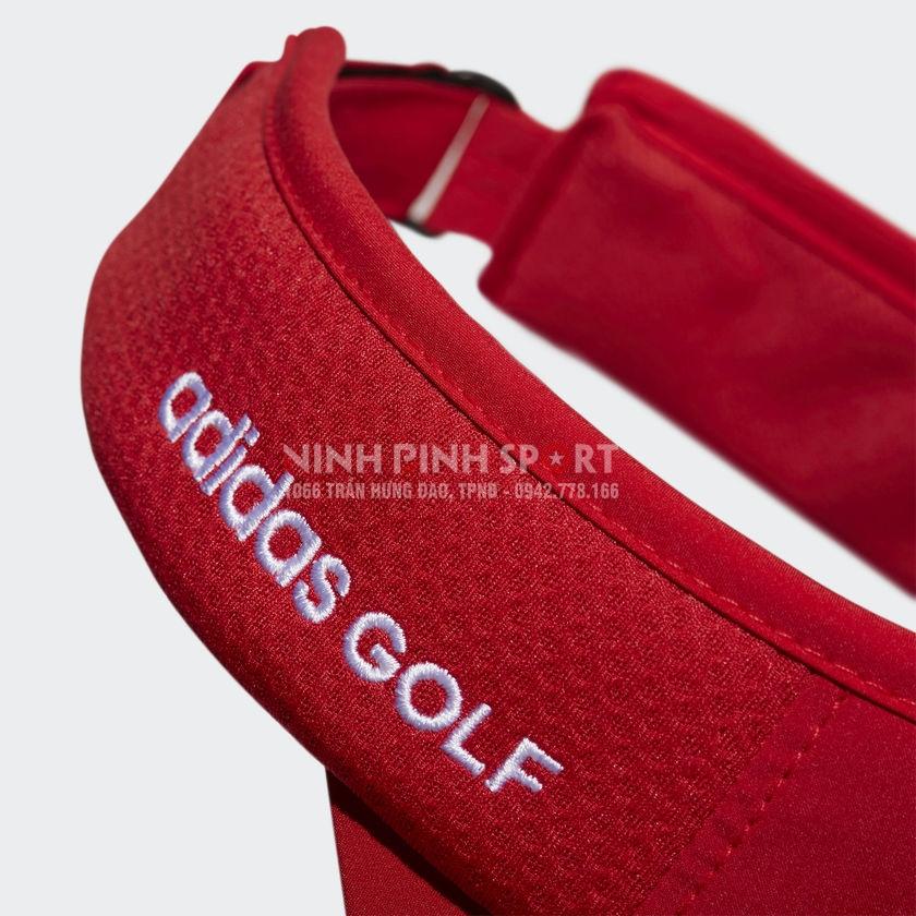 Mũ thể thao nam Adidas Golf Tour Visor Red CK7232