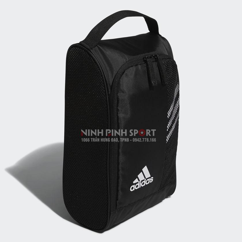 Túi thể thao Adidas 3 Stripe Shoe Bag - Black CK7248