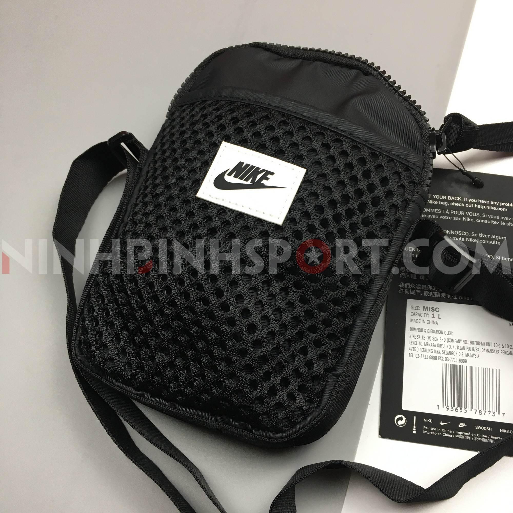 Túi thể thao Nike Black Small Air Messenger CU2611-010
