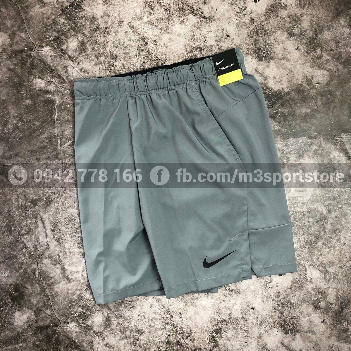 Quần short thể thao nam training Nike Flex CU4946-084