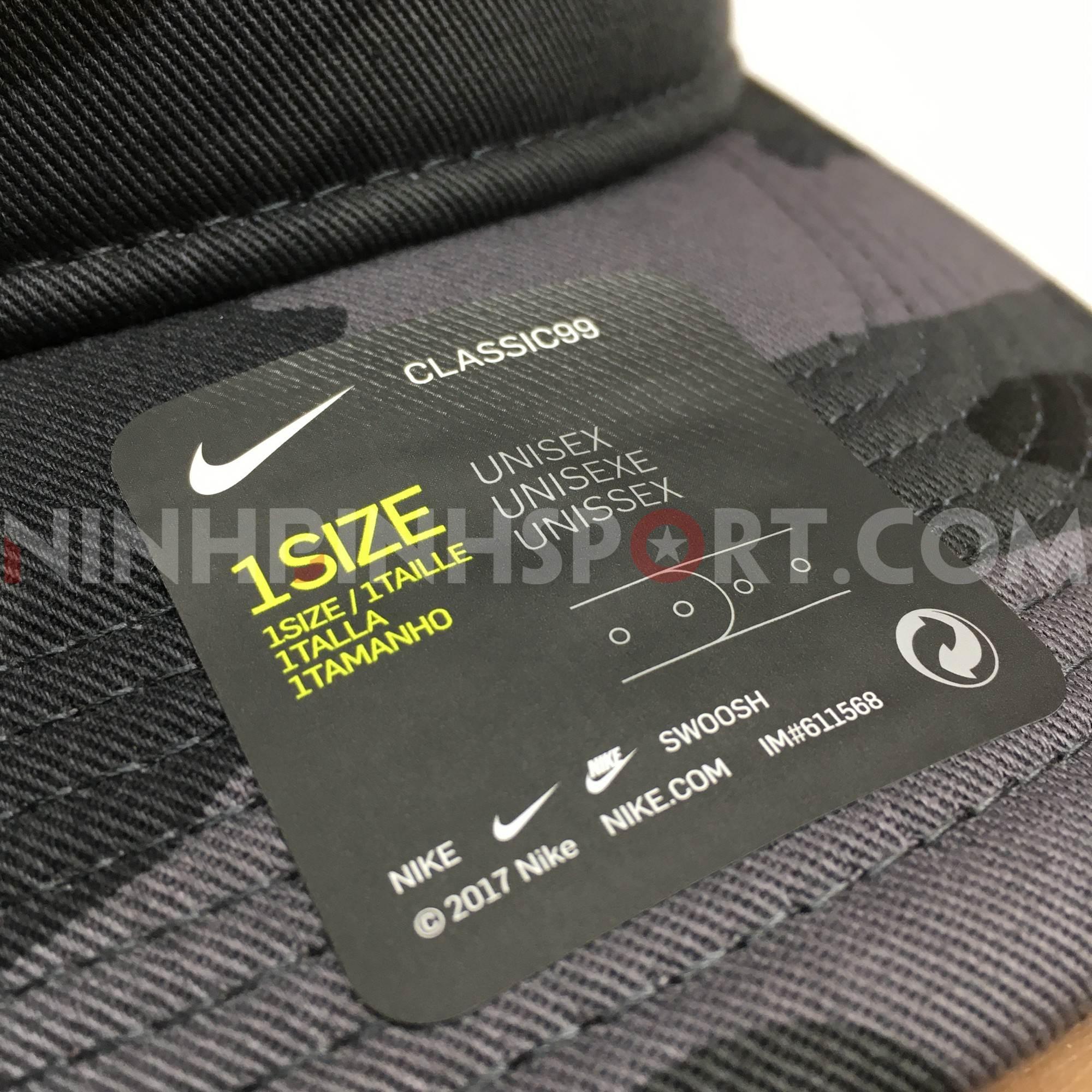 Mũ thể thao Nike NSW Classic 99 Camo CU6342-021