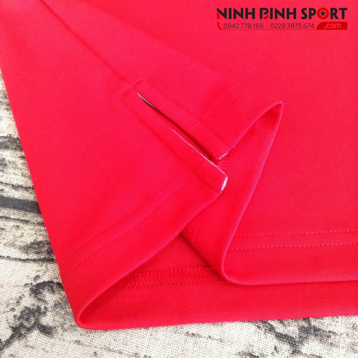Áo Thể Thao Adidas Golf Adidas Essential Textured Polo - Red CV6392