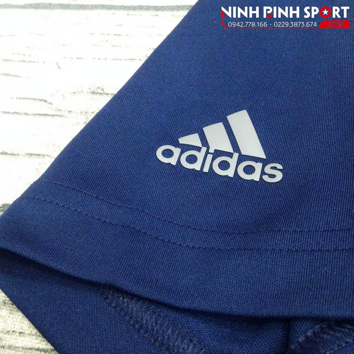 Áo Thể Thao Adidas Golf Adidas Essential Textured Polo - Blue CV6393
