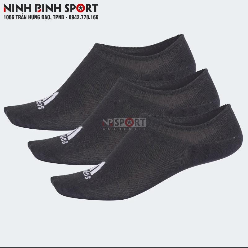 Tất thể thao nam Adidas Performance Invisible Socks 3 Pairs Black CV7409
