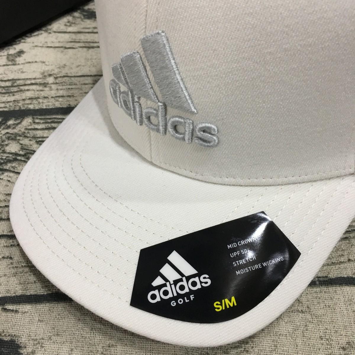 Mũ Adidas Heather Logo Cap - White CW0828