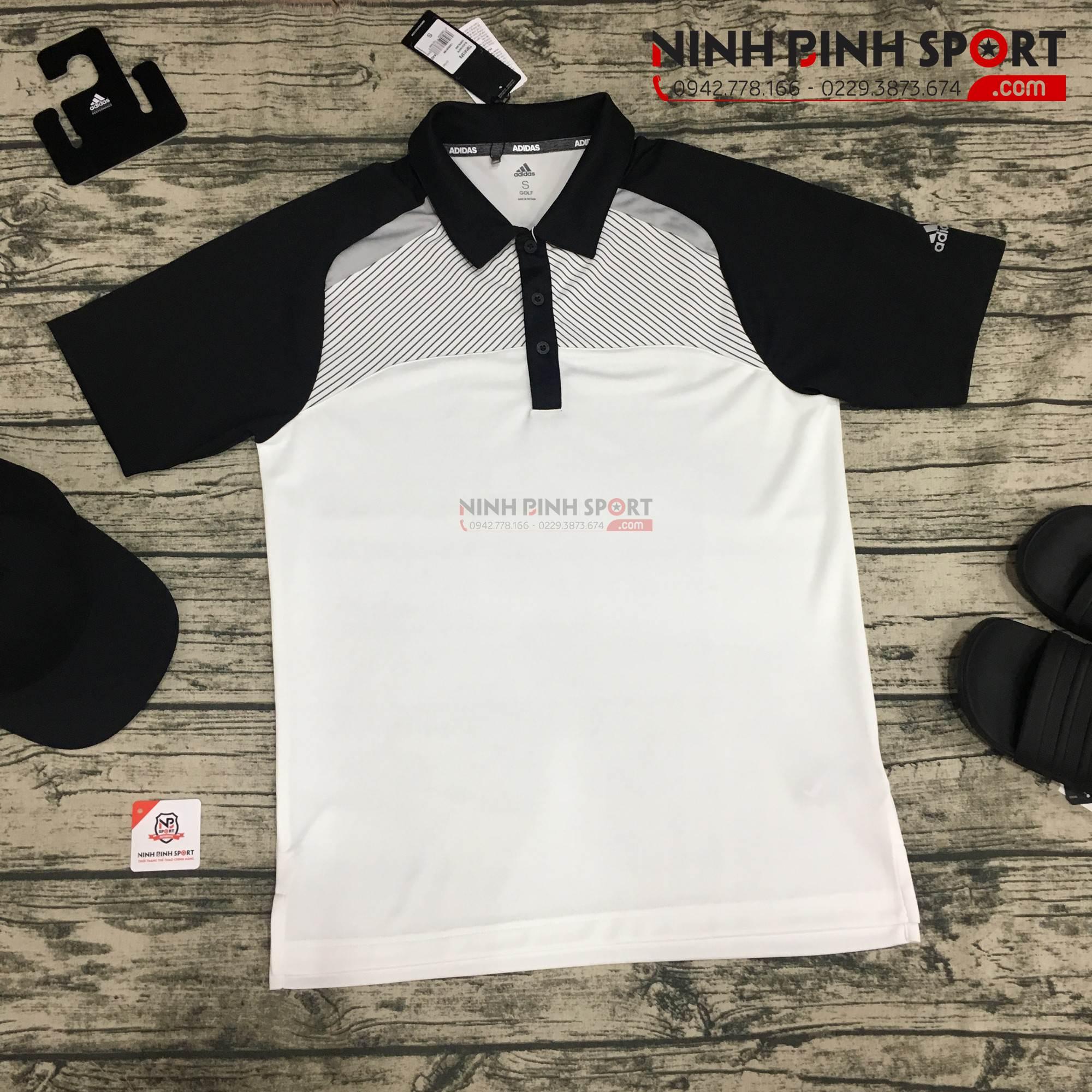 Áo thể thao golf nam Adidas Performance CY7407