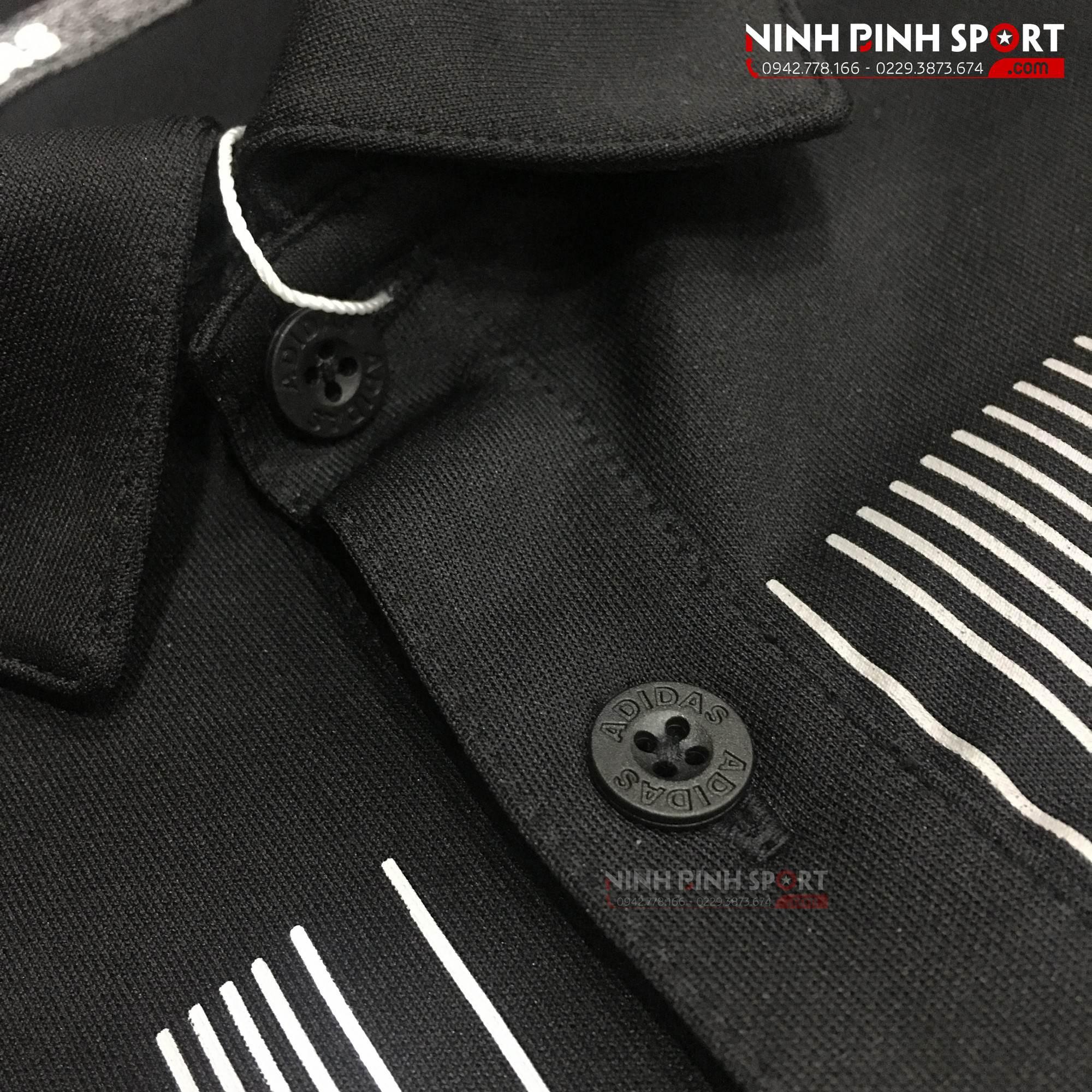 Áo thể thao nam Adidas Vertical Stripe Black CY7413