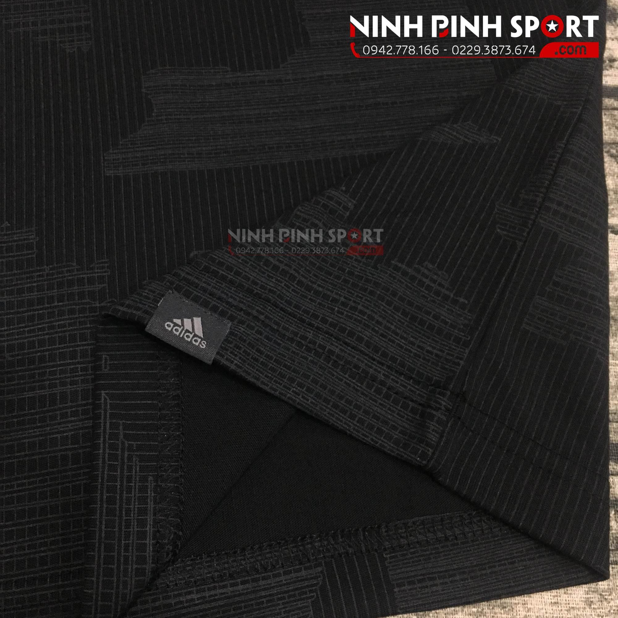 Áo thể thao nam Adidas Adicross Graphic Tee Black CY7419