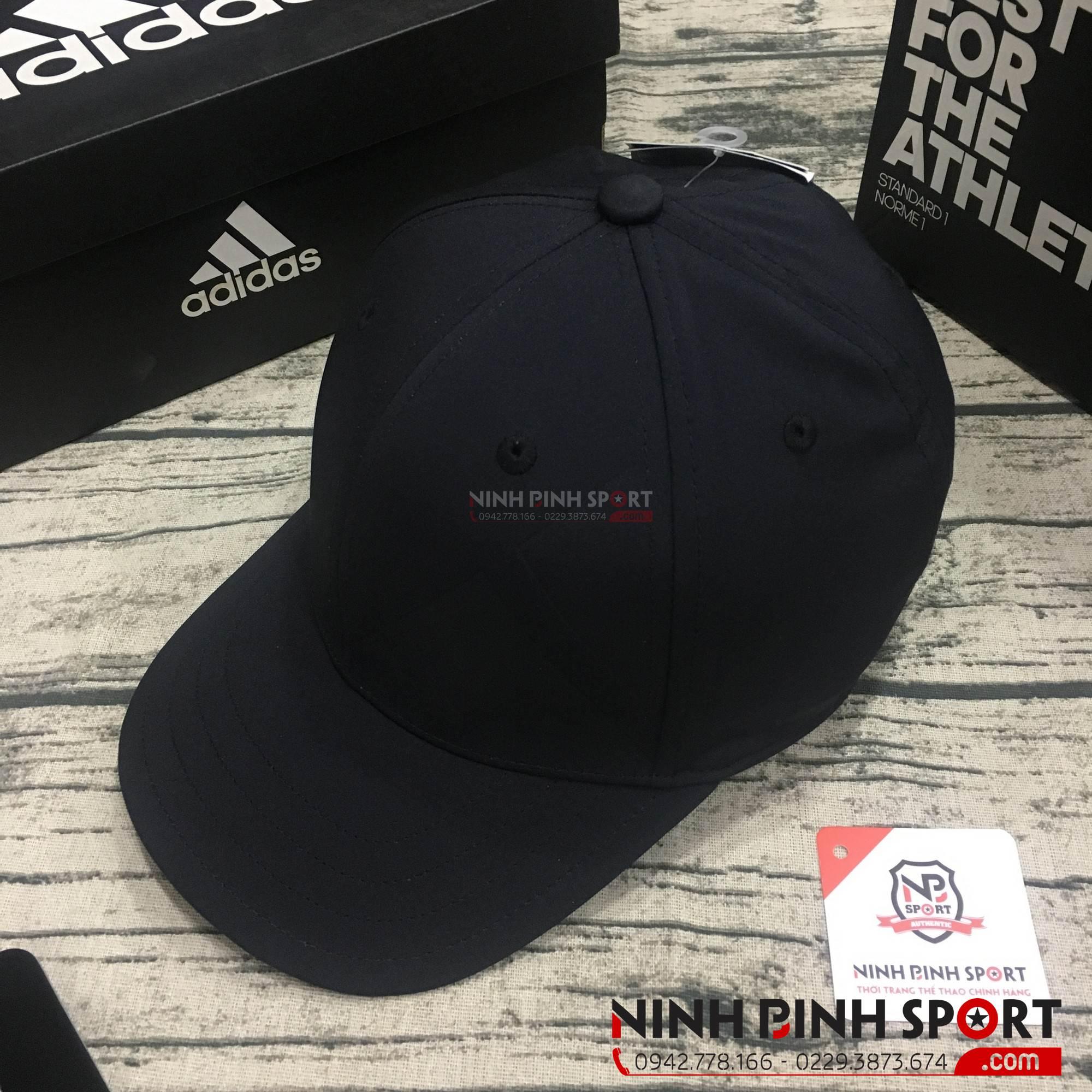 Mũ thể thao nam Adidas A-Stretch Bold Stripe Black CY7504