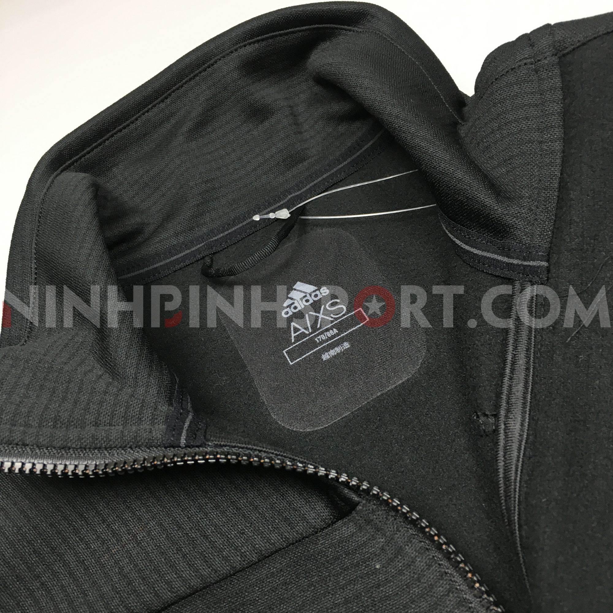 Áo khoác thể thao nam Adidas Stockhorn Fleece Black - CY8684