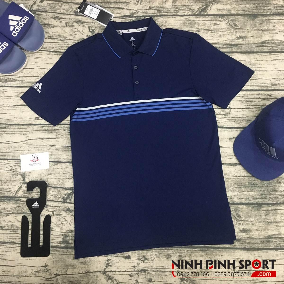 Áo Adidas Golf  Men's Climacool 3-Stripe Polo CZ0957