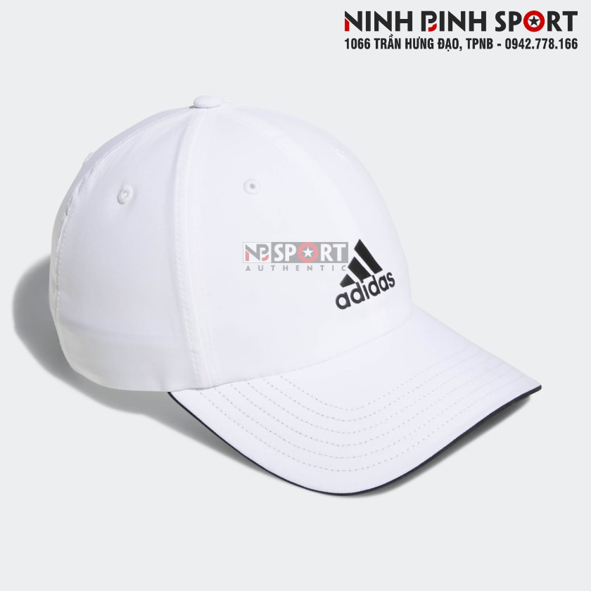 Mũ thể thao nam Adidas Relax Performance White CZ1216