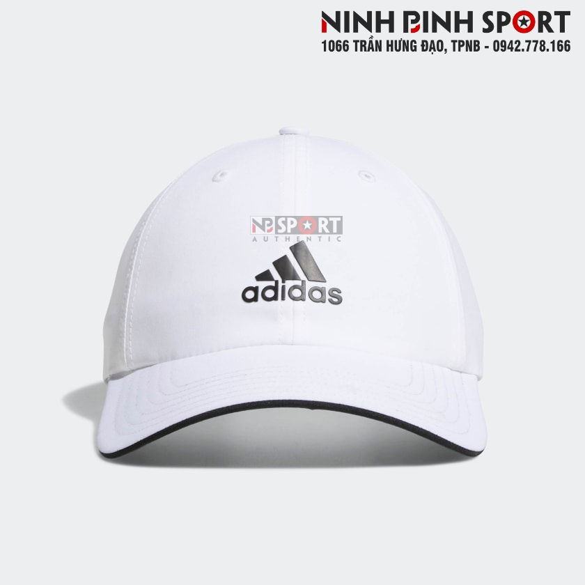Mũ thể thao nam Adidas Golf Relax Performance White CZ1216