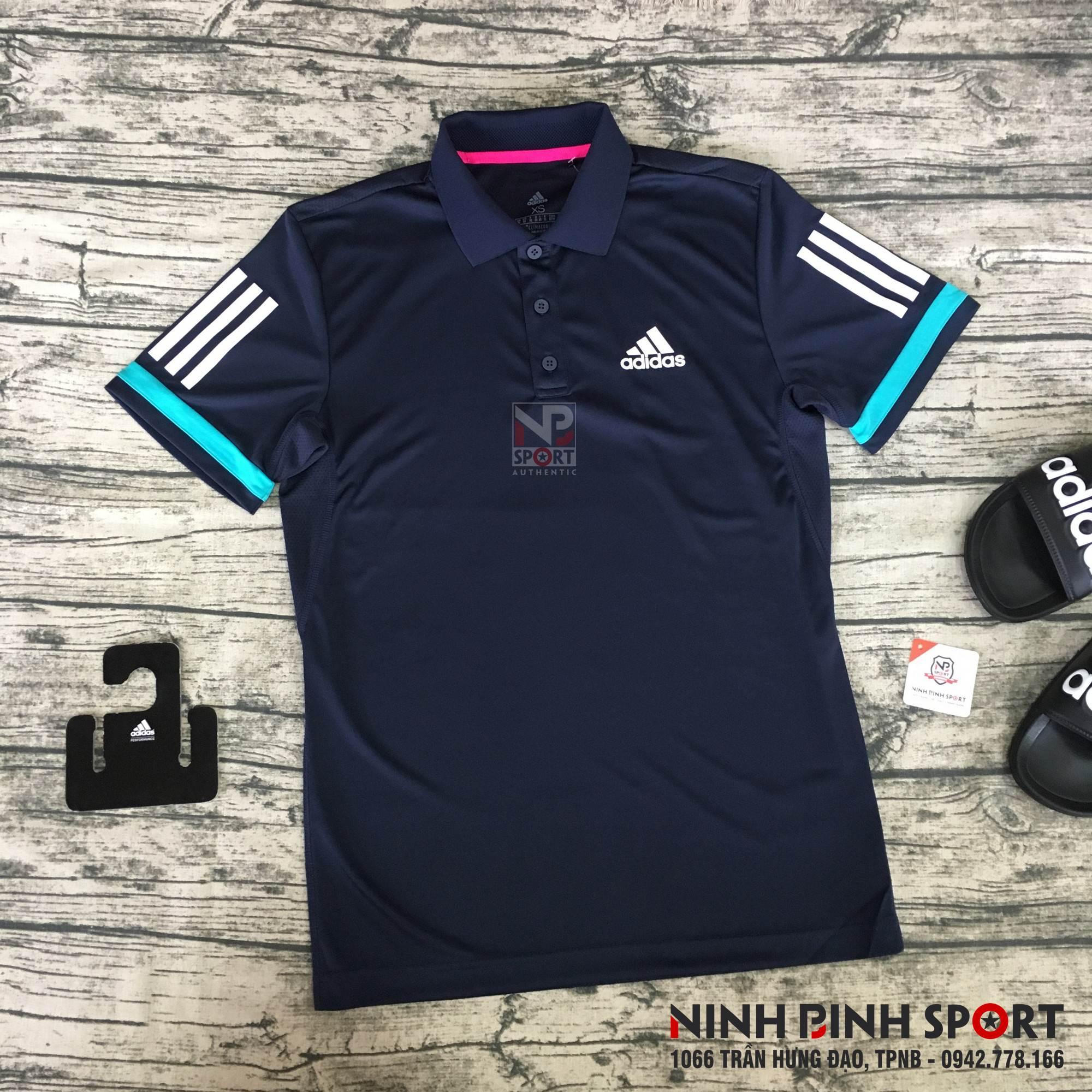 Áo thể thao nam Adidas 3-Stripes Club Polo D74645