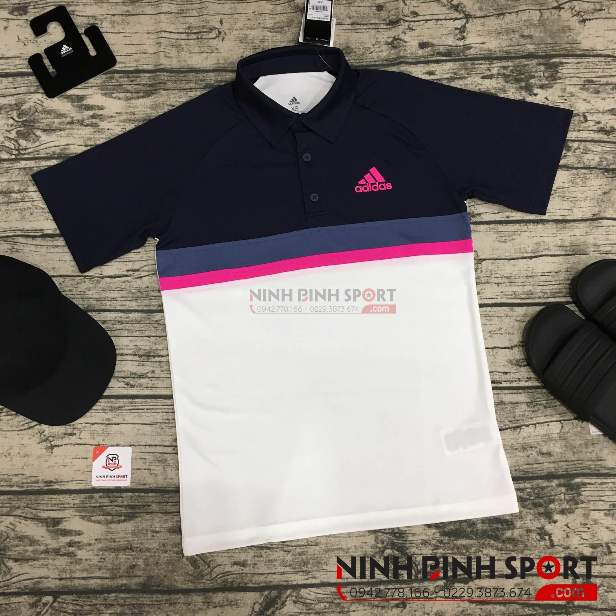 Áo thể thao nam Adidas Colorblock Club Polo  D93018