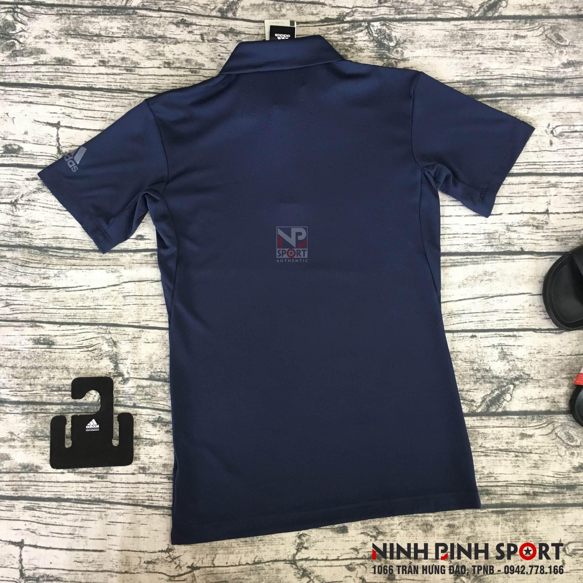 Áo thể thao nam Adidas Climachill Polo Conavy D93667